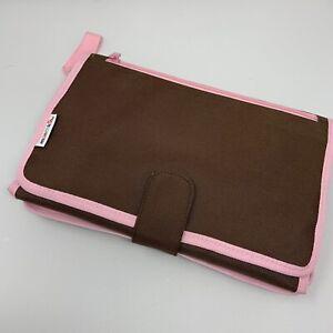 Munchkin Designer Diaper Change Kit Brown Pink