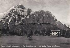 BORNO:  La Presolana dalla Croce di Salven    1955