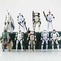 "6"" Black Series Star Wars Action Figure Darth Vader Boba Fett Stormtrooper Gift"