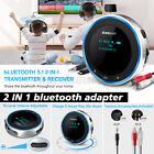 Bluetooth 5.1 Musik Stereo Sender Adapter Receiver Audio Transmitter