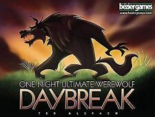 One Night Ultimate Werewolf Daybreak Fast Game 10min Playing Time 3 to 7 Players