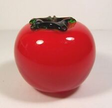 Tomato Vintage Murano Style Blown Glass Vegetable
