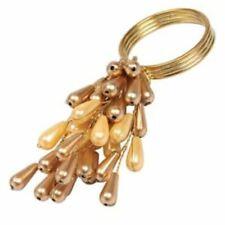 Gold & Champagne Cream Napkin Rings (Set of 4)