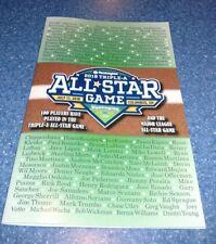 2018 Triple A Minor League Baseball All Star Game Program