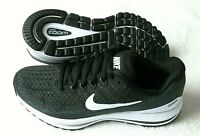 Nike Womens Air Zoom Vomero 13 Running Shoes Black White Anthracite Grey NIB