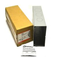 """NEW Wiremold G6014A Metal 12"""" Width Raceway Gray Connector Fitting 6000 Series"""