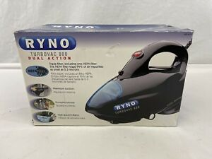 TURBOVAC 800 Corded Dual Vacuum & Blower With Bag & Twelve Attachments New
