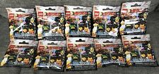 10 Bags Of LEGO NINJAGO The movie Blind Bag Limited Edition Mini Figure 71019