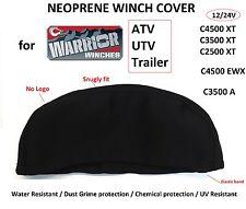 Warrior Winch Neoprene Cover 2500 3500 4500 lbs WaterResist Snugly fit M
