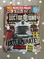 DOCTOR WHO ADVENTURES MAGAZINE Issue 261 - Brand New In Bag - Free Postage