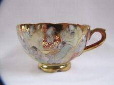 Antique Tea Cup Japanese Decorative Gold Accents Teacup