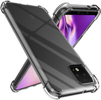 For Google Pixel 4a 4 XL Pixel 2 3 3a Clear Shockproof Case Gel TPU Cover Skin