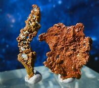 2x Rare Native Copper Specimens from Tsumeb, Namibia C3