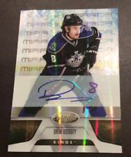 Drew Doughty 2010-11 Leaf Certified Mirror Gold Autograph /25 Kings Auto