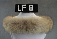 Fellkragen Pelz Kapuze Kapuzenstreifen ca. 71 cm Fell Schal Racoon-natur LF8