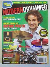 MODERN DRUMMER Magazine Ago 2008 Dafnis Prieto Kenny Aronof Bill Stewart No cd