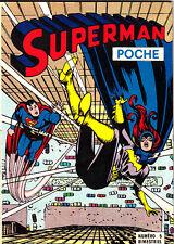 SUPERMAN POCHE N°5 DE JANV-FEVRIER 1977 SAGEDITIONS TRES BON ETAT