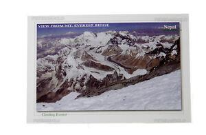 Postkarte Everest Himalaya Peterandclo