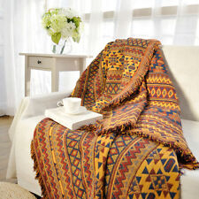KILIM rugs TAPESTRY tassel throw sofa Bed Cover blanket ethnic gypsy 130*170cm