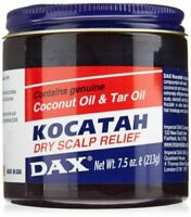 DAX Kocatah With Coconut Oil & Tar Oil Dry Scalp Relief 7.5oz