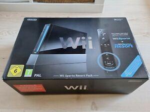 Nintendo Wii Sports Resort Pack Limited Edition Schwarz Spielekonsole Gebraucht
