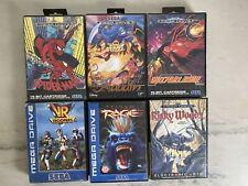 Sega Mega Drive Games Bundle VR Troopers