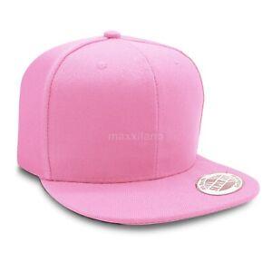Solid Snapback Hats for Wholesale Flat Brim Baseball Caps Lot Cheap Mens Hat