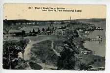 """""""Oh That I Could Be A Soldier in This Camp"""" Chatanooga TN Army WWI ca. 1918"""