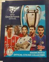 Topps CL 2017 2018 10 Sticker aussuchen UEFA Champions League 17 18 Panini