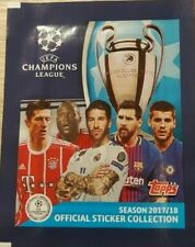 Topps CL 2017 2018 50 Sticker aussuchen choose pick Champions League Panini