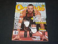 2011 NOVEMBER OUTSIDE MAGAZINE - OSCAR PISTORIUS FRONT COVER - O 7862