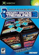 GIOCO XBOX 1 MIDWAY ARCADE TREASURES 3 PAL HYDRO THUNDER RUSH THE ROCK BADLANDS