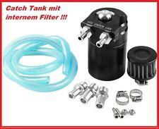 Separatore-Olio PCV Sistema filtro aria Fumi di olio black Oilcatchtank Can