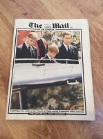 THE MAIL ON SUNDAY Newspaper & Magazine PRINCESS DIANA Funeral Tribute 7/9/1997
