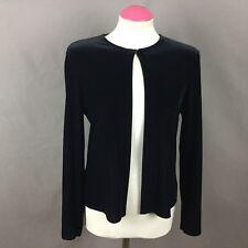*BNWTS* St Michael Vintage Black Velour Evening Wear Cardigan  Size 12