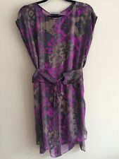 SCANLAN THEODORE silk Shift Dress Size 12