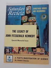 Saturday Review  ~ December 7, 1963 ~ Special Memorial Issue J.F.K  **RARE**