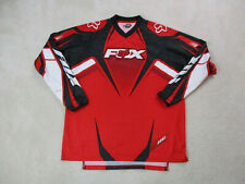 Nuevo Fox Racing Motocross Raider Crew camiseta manga corta para hombre Polor rfox 18