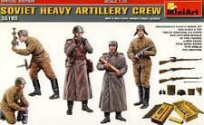 MiniArt Soviet Artillerie-Besatzung artillery Crew Munitionskisten Bausatz 1:35