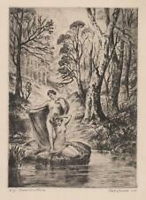 Nat Lowell Etching Lot 147