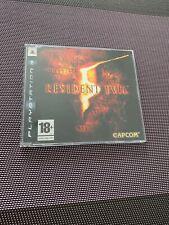 Resident Evil 5 - Jeu Playstation 3 PS3 - Version PROMO PRESS