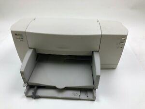 HP Deskjet 812C Workgroup Inkjet Printer Vintage Untested
