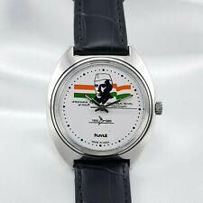 HMT CENTENARY REAR CALLAS JAWAHARLAL NEHRU 070610 VINTAGE WRIST WATCH FOR MEN'SS