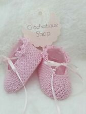 Newborn Crochet Baby Mary Jane