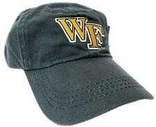 Wake Forest Demon Deacons Ncaa Licensed Adjustable Black Buckle Strap Hat