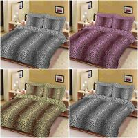 NZ LEOPARD ANIMAL PRINTED DUVET COVER QUILT COVERS PILLOWCASES BEDDING SETS