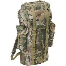 Brandit BW Combat Backpack Military Hunting Army Bag 65L Rucksack Tactical Camo