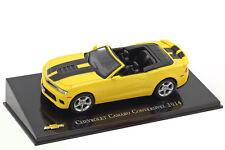 Mag JQ27, Chevrolet Collection, Chevrolet Camaro Convertible, 2014, échelle 1:43