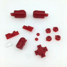 Red Replacement ABXY L R D-Pad Cross Button Full Buttons Set For DS Lite NDSL