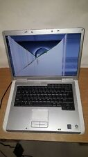 "Dell Inspiron 1501 Silver Laptop Notebook 15.4"" 1GB 60GB SMASHED SCREEN PARTS"